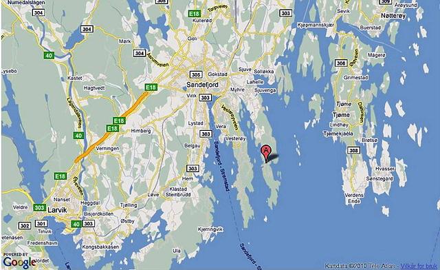 kart sandefjord Har bodd på hytta i 16 år   Hytteavisen kart sandefjord
