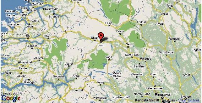 kart over lom Lom vil gi hytte og tomt til kronprinsparet i Sverige   Hytteavisen kart over lom