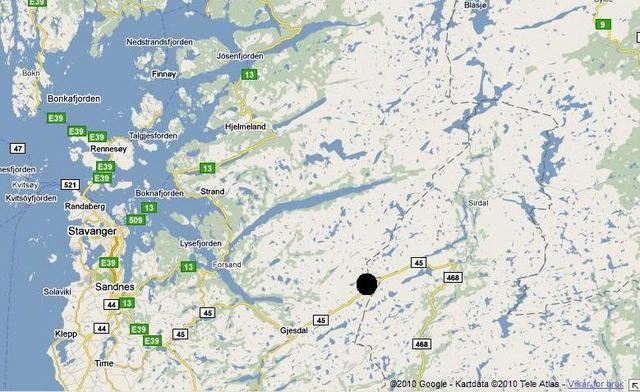 gjesdal kart Litauere i fengsel etter innbrudd   Hytteavisen gjesdal kart