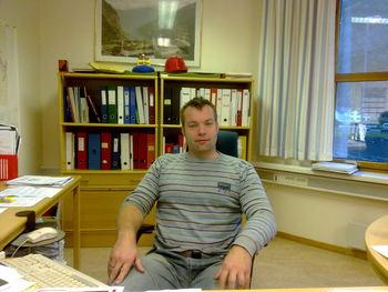 Tenesteleiar Kommunal driftseining Reinhardt Sørensen