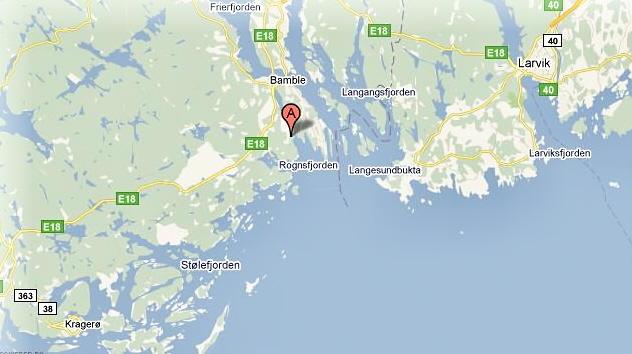 rognstranda kart Innbrudd i åtte hytter i Bamble   Hytteavisen rognstranda kart