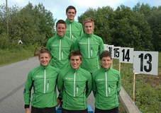 Team Aker Solutions i sesongen 2010/11.