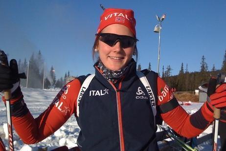 Nykommer på landslaget: Bente Losgård Landheim.