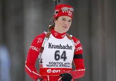 Ann Kristin Flatland.  Skiskyting.