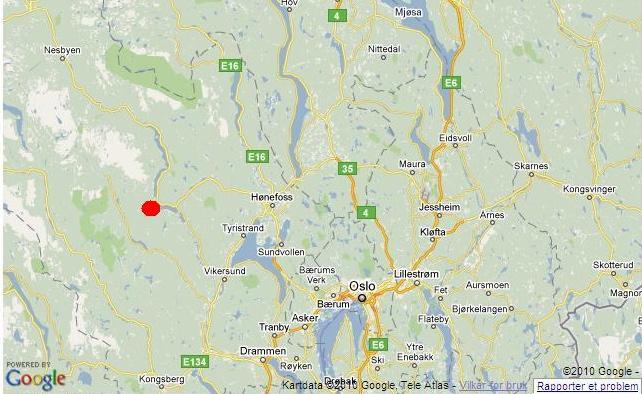 norefjell kart Hytte tok fyr etter propan bruk   Hytteavisen norefjell kart
