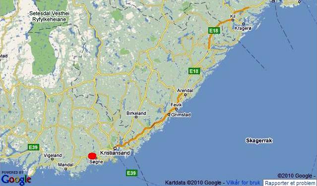 søgne kart Fikk 500.000 i bot for sprengning i sjøkanten   Hytteavisen søgne kart