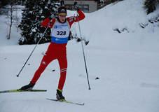 En skiskytter fra Meldal med potensiale: Andreas Kvam.