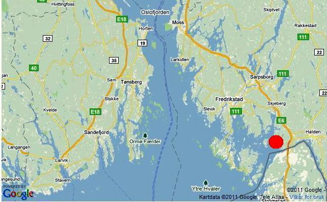 kart over halden kommune Største tomteskred på flere tiår   Hytteavisen kart over halden kommune