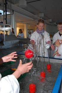 Vitensenteret Lek og forsøk med vann