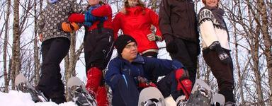 Snowshoeing tromsøya_500x333