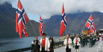 17. mai 2012 i Aurland Foto Aurland kommune