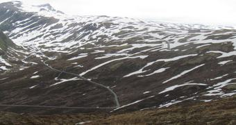 Nasjonal turistveg Aurlandsfjellet Foto Noralv Distad
