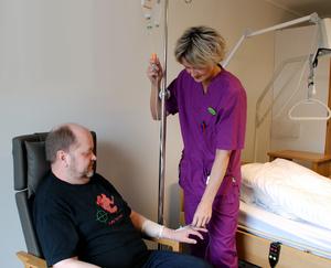 Intravenøs behandling ved DMS