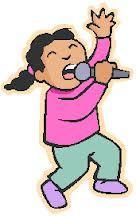 Syngende jente