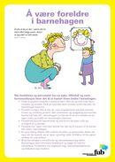 Å være foreldre i barnehagen (bokmål) thumb.jpg