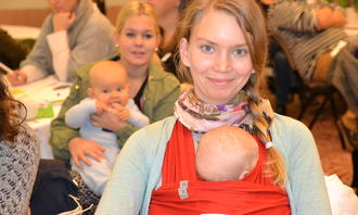Mødre og barn på Forledrekonferansen 2013