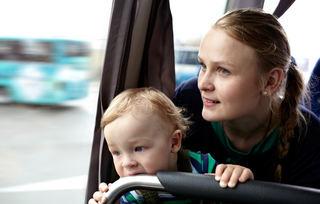 Buss og barn