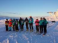 Deltakere og støtteapparat på Gålå - januar 2014