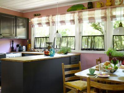 Gammelt hyttekjøkken? hva med kjøkkenfornyelse i grått?   hytteavisen