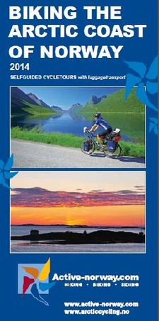 Biking arctic coast