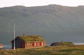 Hytte nøytral illustrasjon - eldre hytte Meisalfjellet