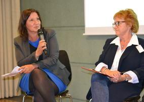 Lena Jensen og Berit Bae