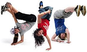 Hiphop dansende barn