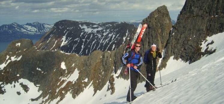 randonee skis rental 1550
