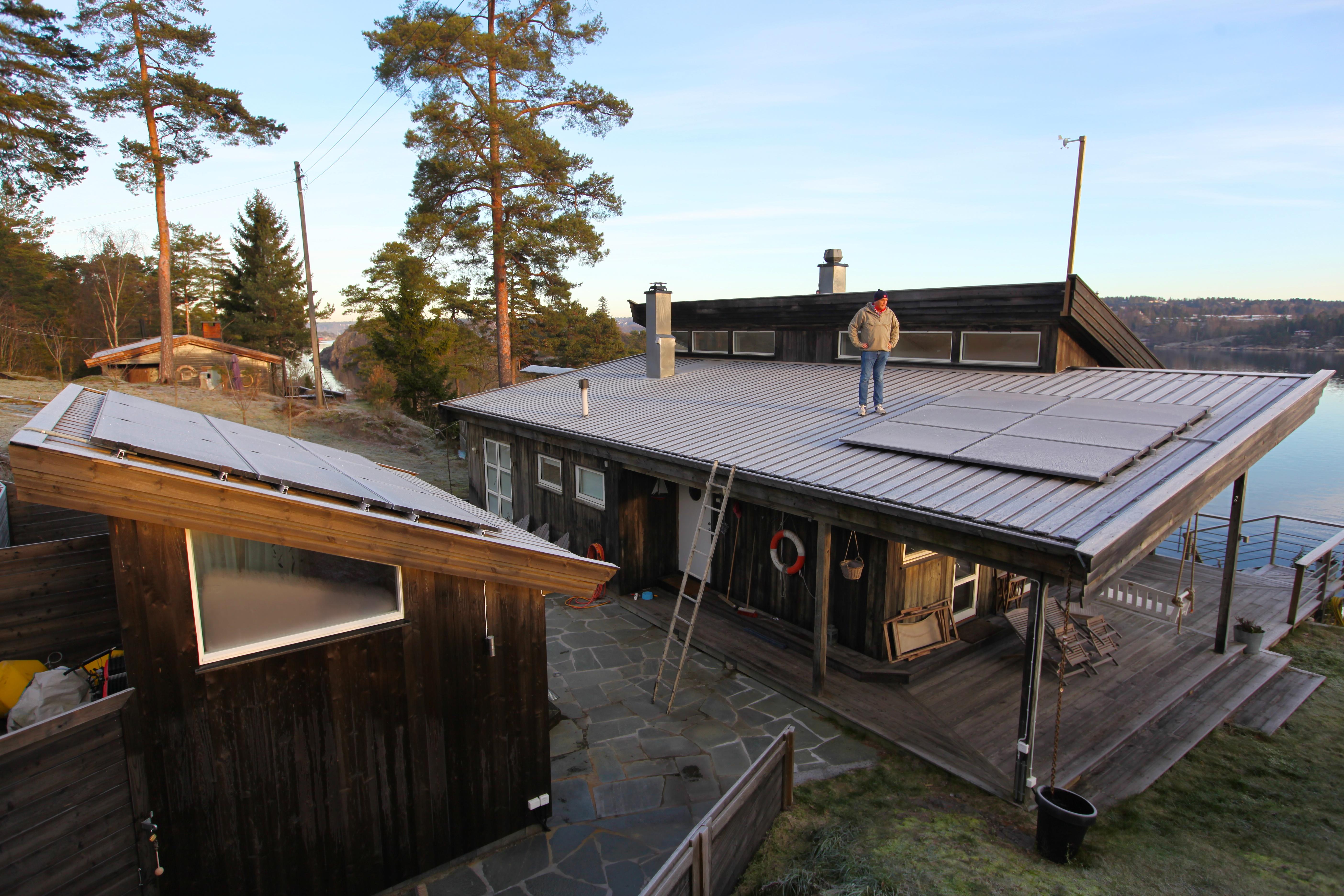 Bygge anneks på hytta