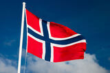 norsk-flagg-stang