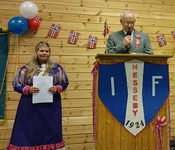 17-mai tale, Hanne Iversen, Olaf B. Johnsen