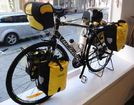 touring bike with cycle bags