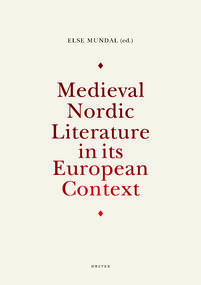 Medieval Nordic Literature_omslag