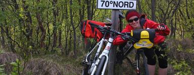 win free ride on one of Tromsø Outdoor bikes