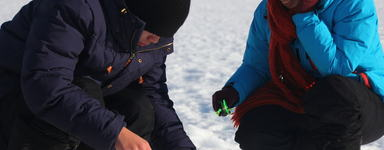 Tromsø Outdoor winter clothing rentals, icefishing