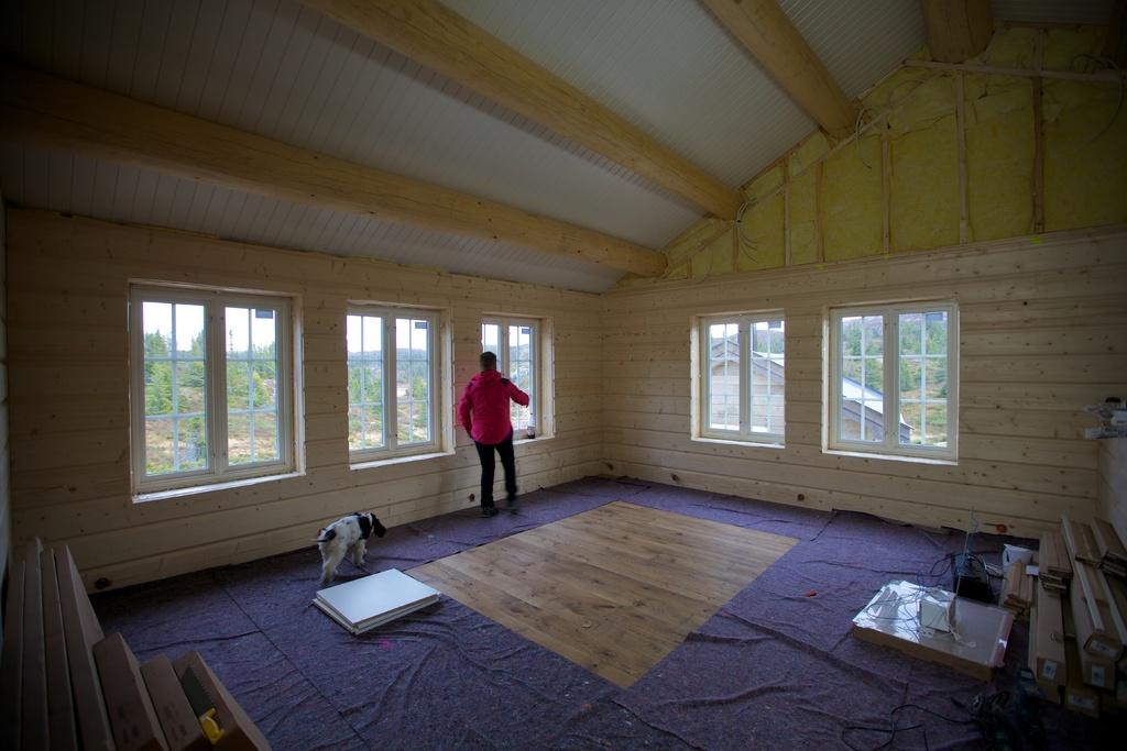 Spektakulært hytteprosjekt i hallingdal snart innflyttingsklart ...