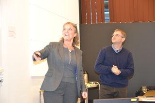 Ingrid Lund og Davis L. Cameron