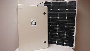 Solenergi i boks