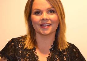 Marie Skinstad-Jansen i svart bluse