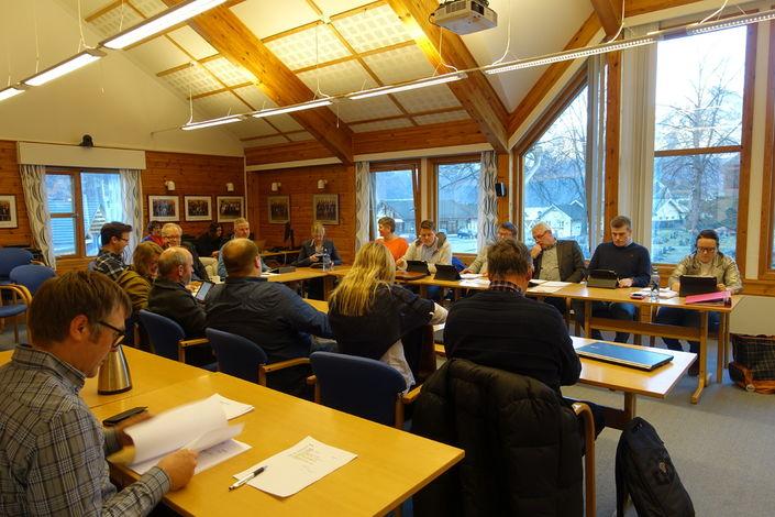 Kommunestyremøtet 10.mars 2016