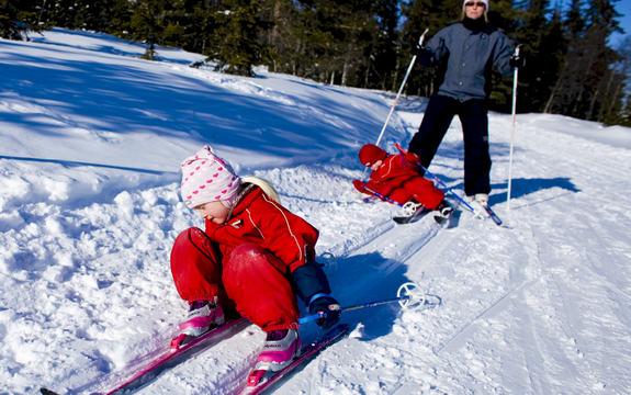 Skigåere barn