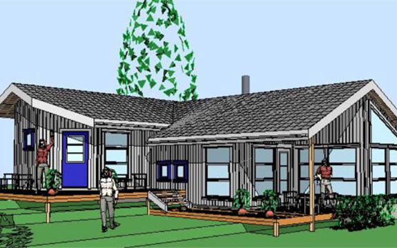 Røsneskilen - hyttemodell