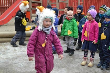 Bukkene Bruse-barn i Fridtjovsgate