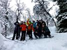 Snowshoe Trip on Tromsøya, Tromsø Outdoor, a great way to start your day!