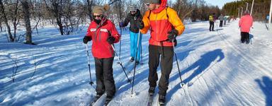 Guided cross-country ski trip – beginners ski course, Tromsø Outdoor