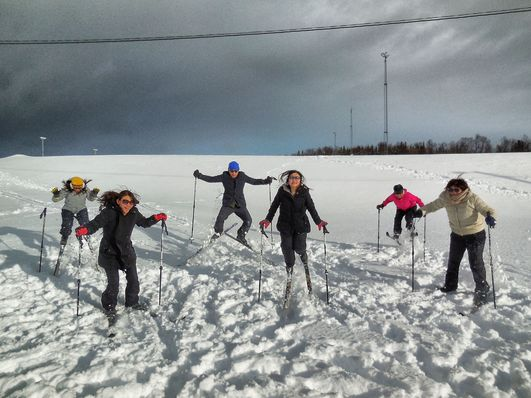 Guided cross-country ski trip – beginners ski course, Tromsø Outdoor