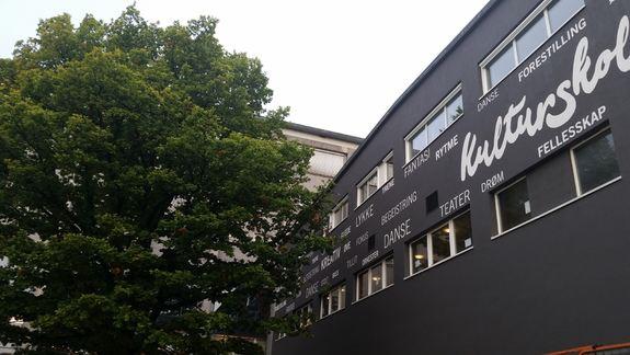 Ny fasade kulturskolen