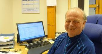 Økonomisjef Reidar Johnsen samanfattar budsjettsaka på rim:
