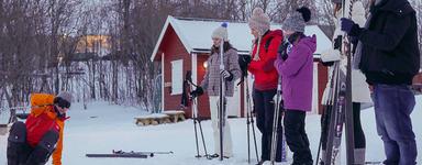 Cross Country SKi Trip - Beginner ski course, Tromsø Outdoor