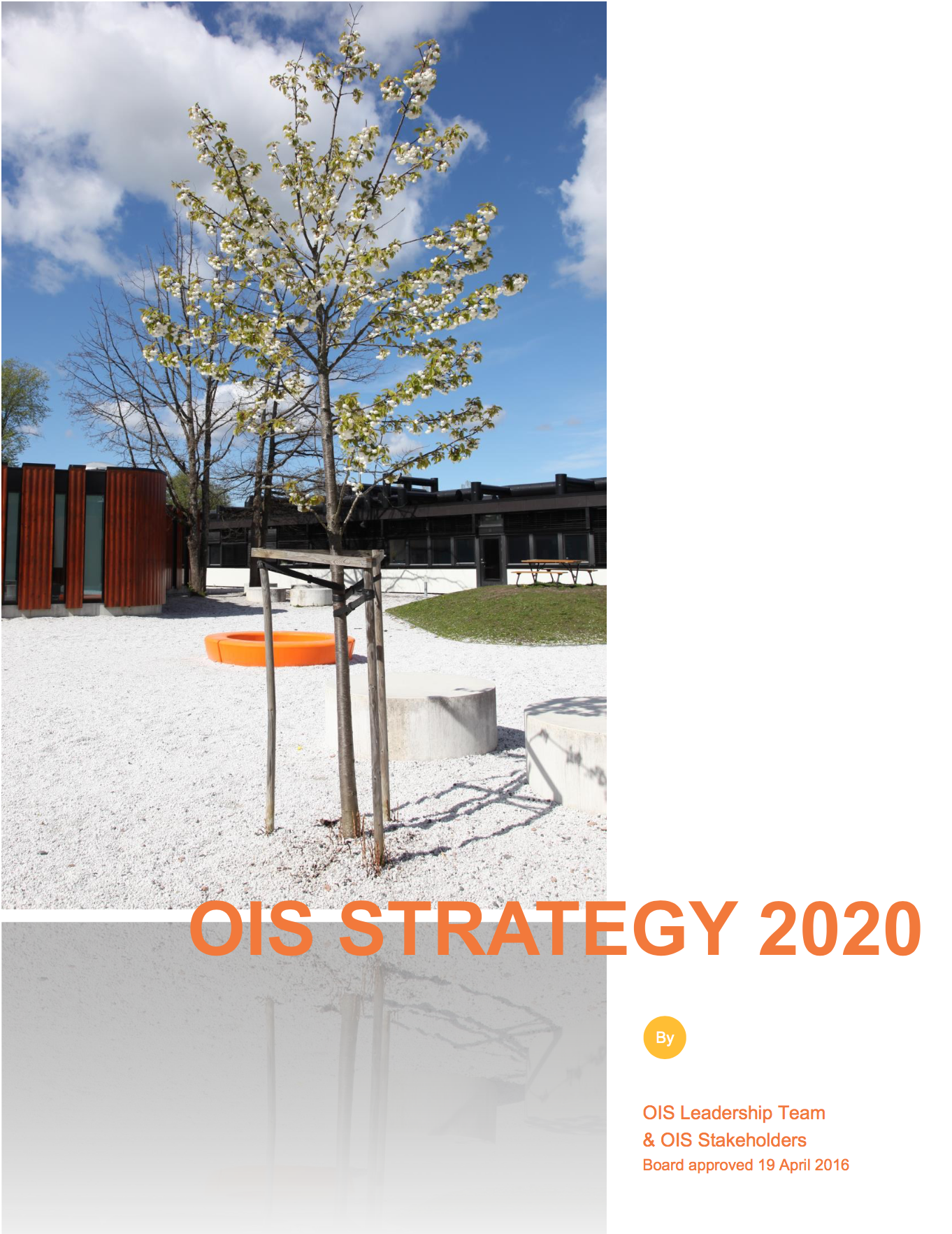 OIS Strategy 2020 front page